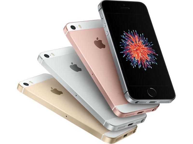 La cámara frontal del iPhone SE es la misma del iPhone 5.