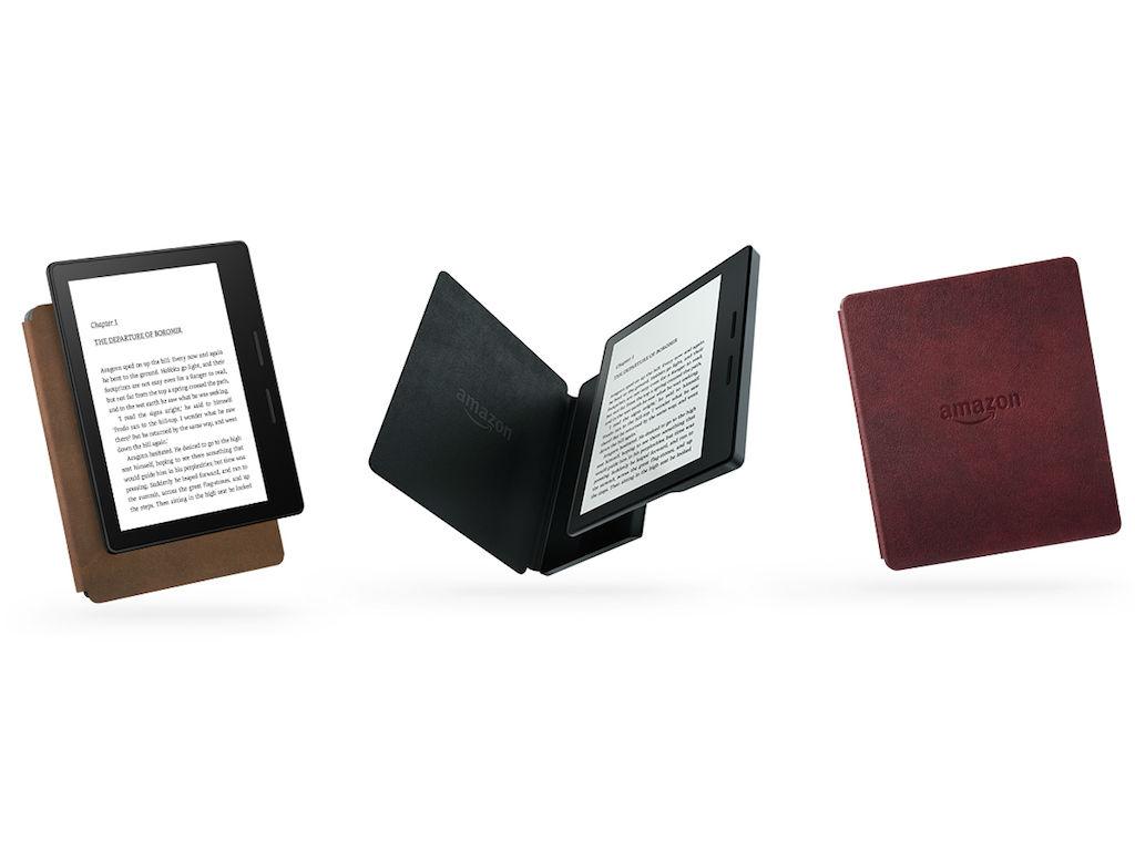 El Kindle Oasis viene acompañado de una cubierta que le permite tener hasta nueve semanas de batería.