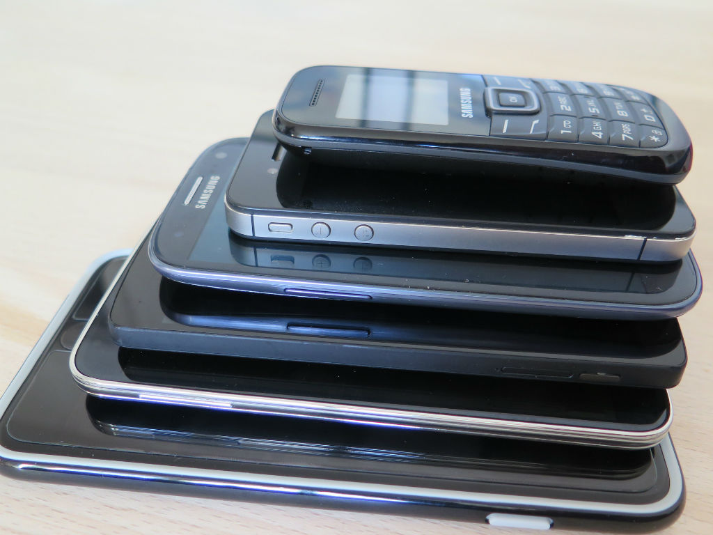 Se vendieron unos 349 millones de smartphones en estos tres meses.