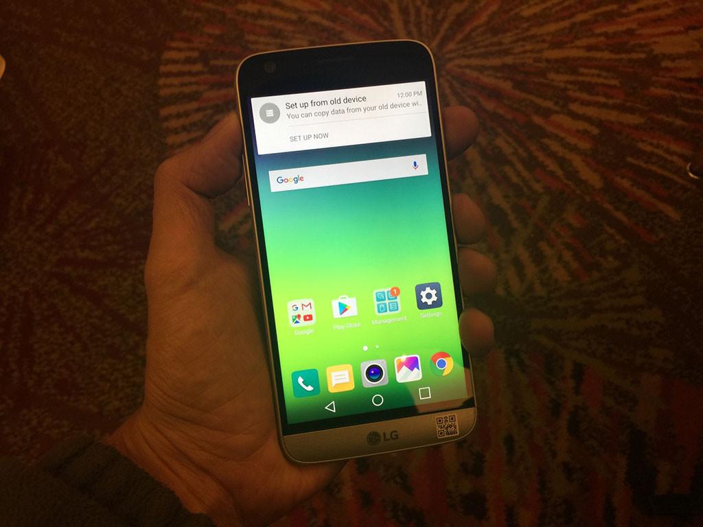 Este es el LG G5 Special Edition.
