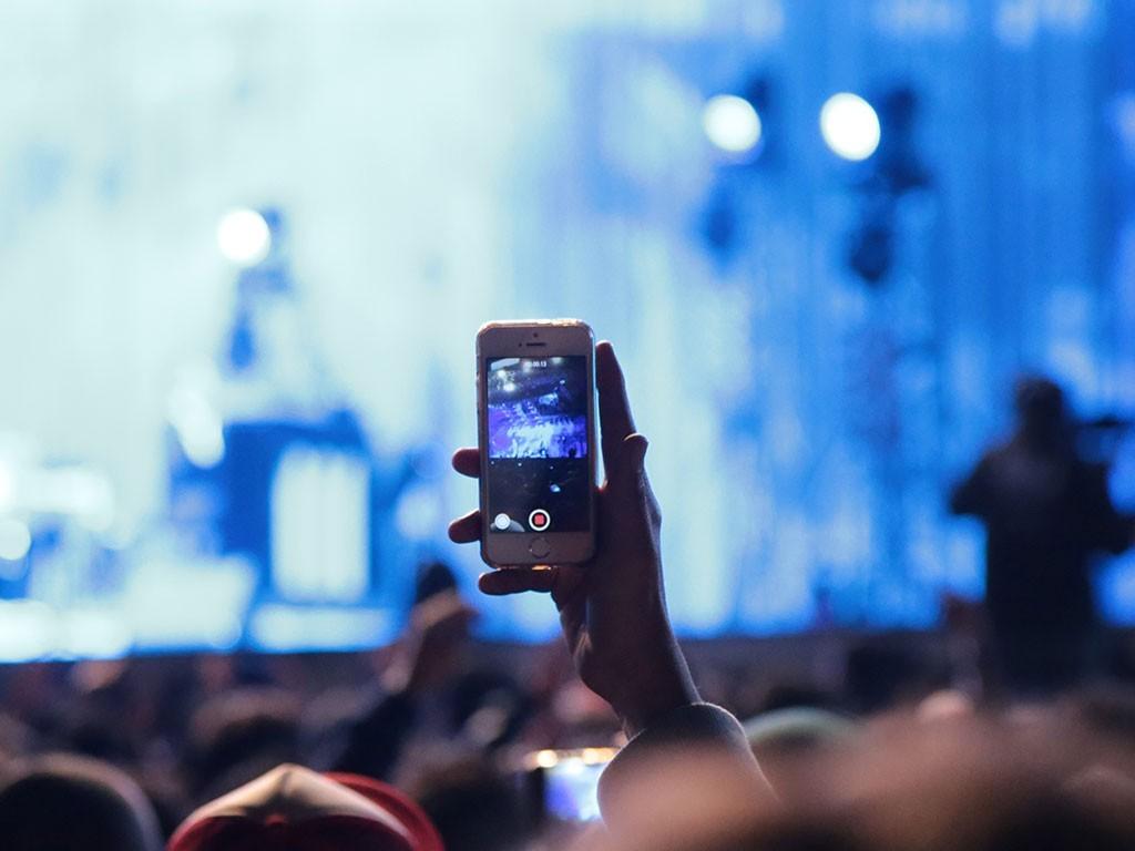 ¿Filmar o no filmar en los conciertos?