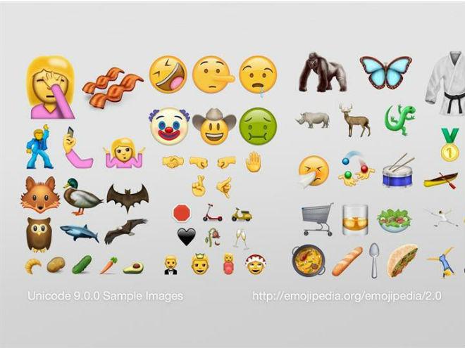 Estos son los emojis que estarán aterrizando muy pronto.