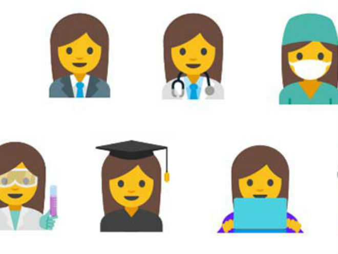 Tendremos emoji de hombres y mujeres trabajadores por igual.