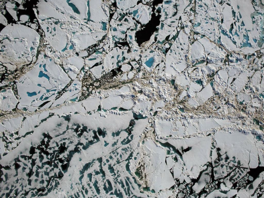 El Ártico tiene cada vez menos hielo.