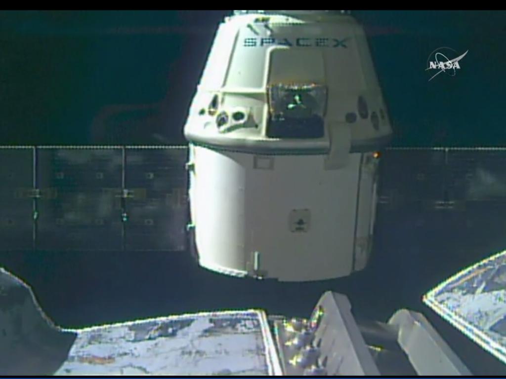 La nave salió esta mañana de la ISS.