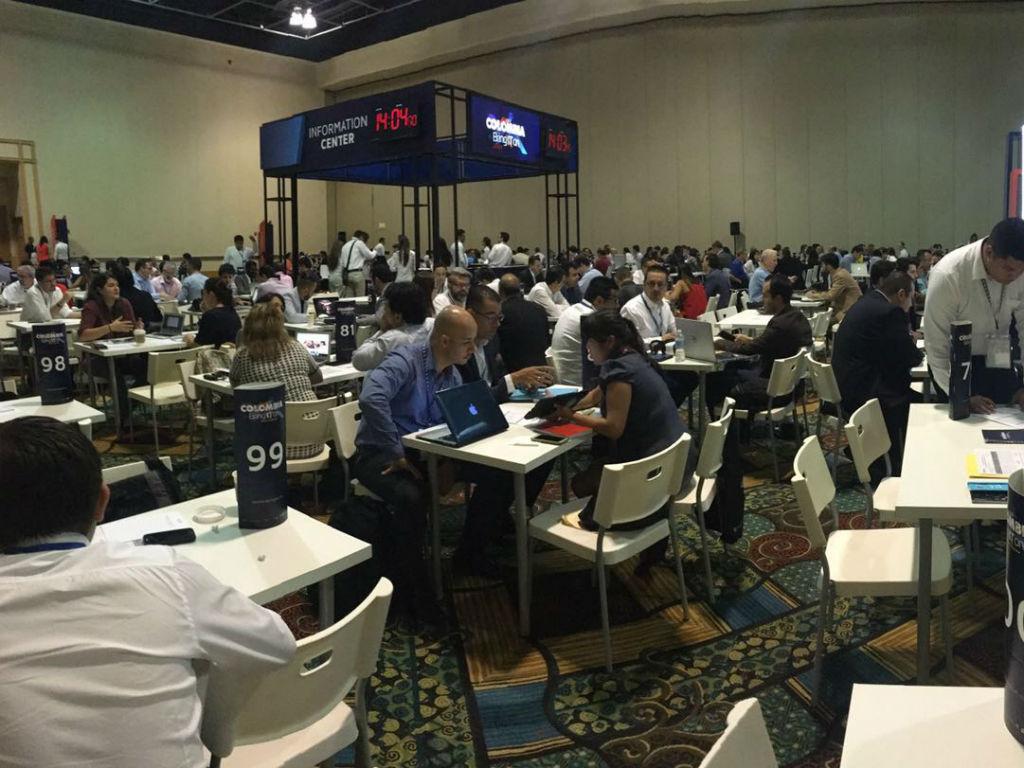 Se espera que se lleven a cabo más de 1.000 reuniones entre inversionistas y empresarios.