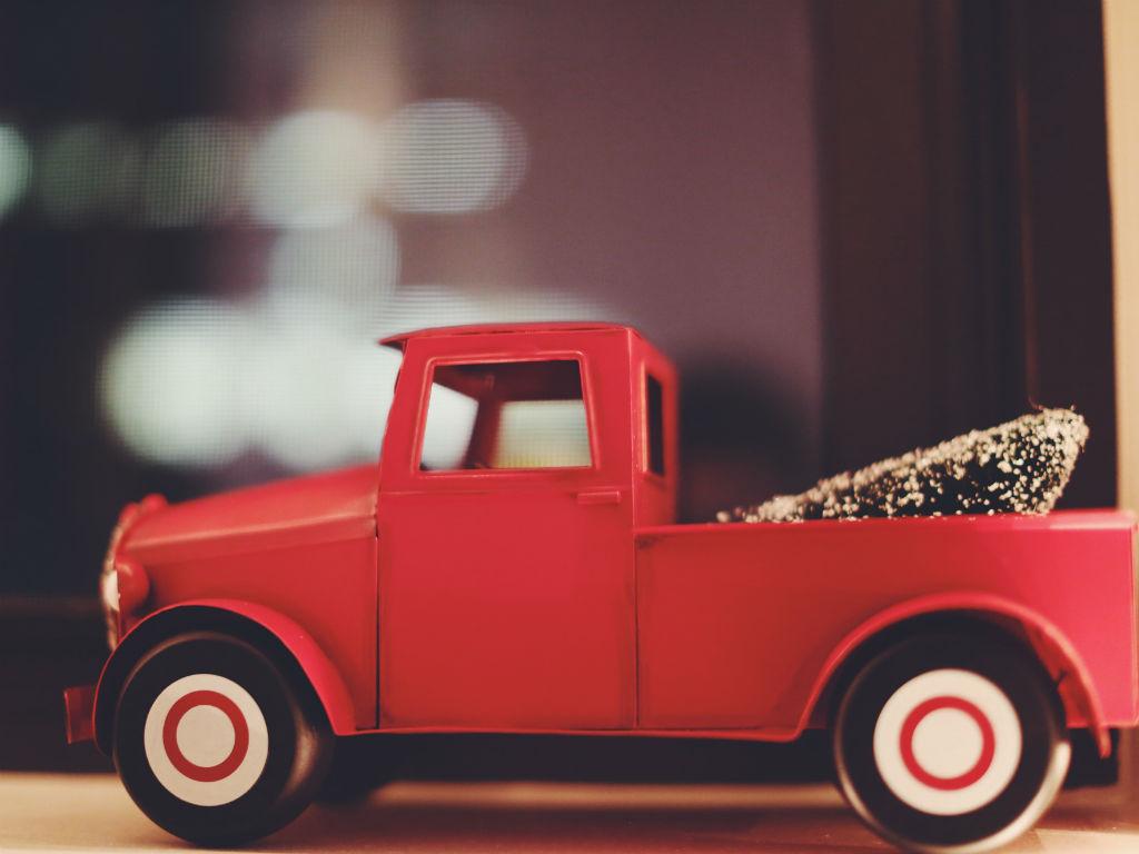 red truckF