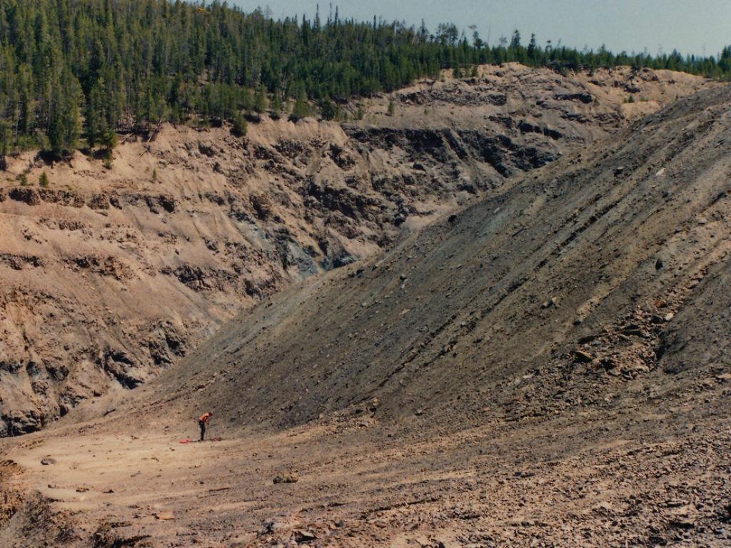 Mina de cobalto abandonada. Imagen: Flickr.