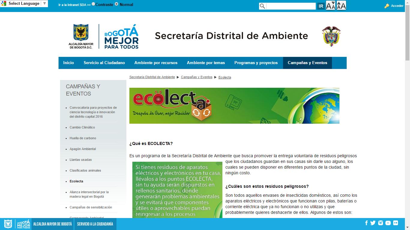 Ecolecta