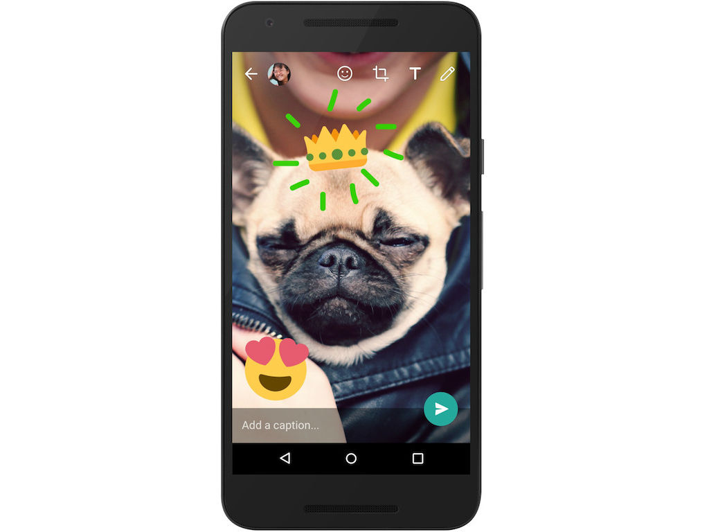 WhatsApp copió a Snapchat y ahora podrás dibujar en las fotos y videos.