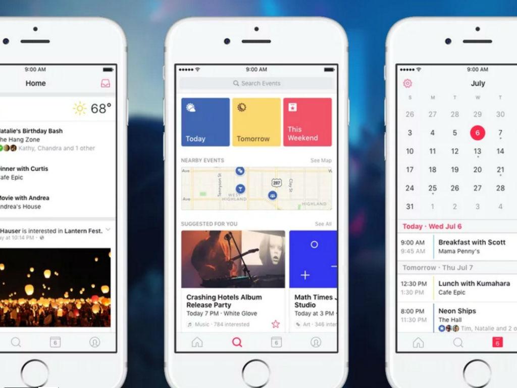 Ahora puedes planear tus eventos en una app independiente.