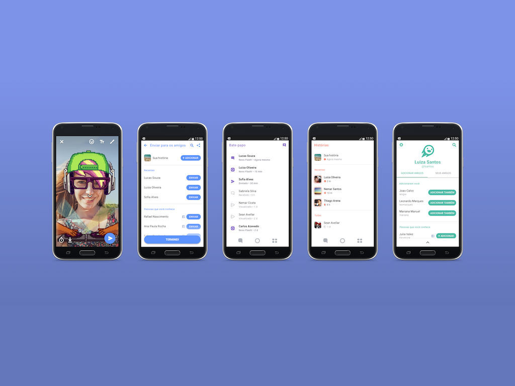 Flash es la nueva app de Facebook para contrarrestar a Snapchat.