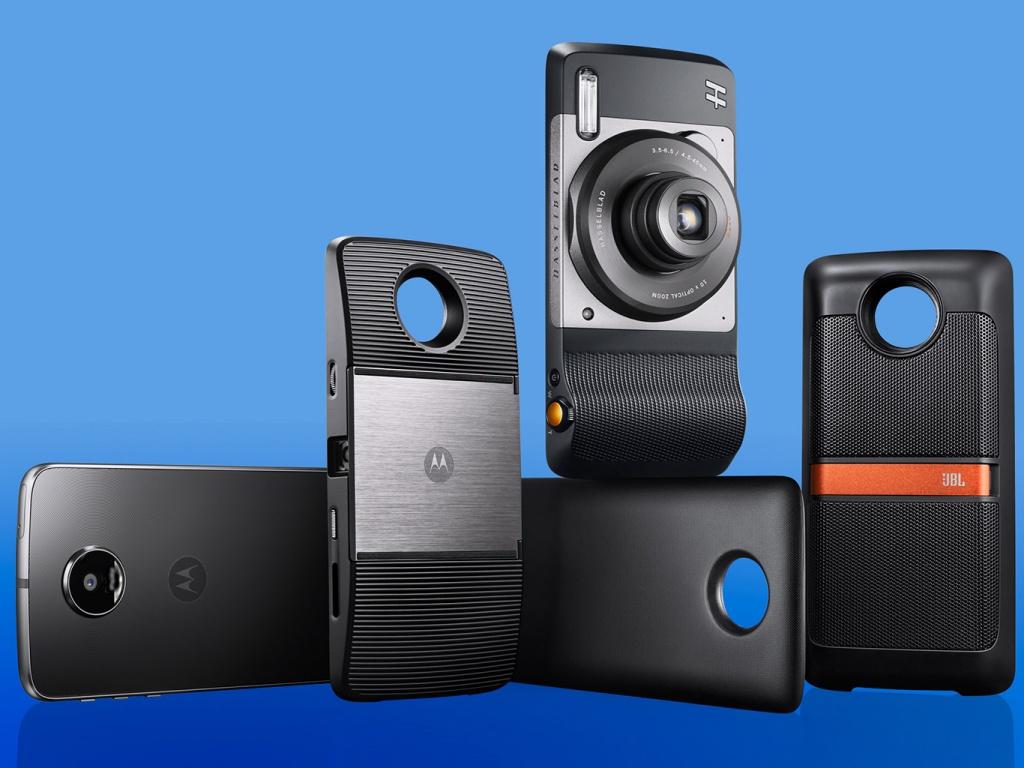 Los Moto Mods son los módulos compatibles con Moto Z, que permiten darle funcionalidades adicionales al smartphone.