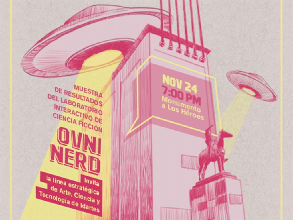 Ovni-Nerd está abierto al púlico hasta el 11 de diciembre.