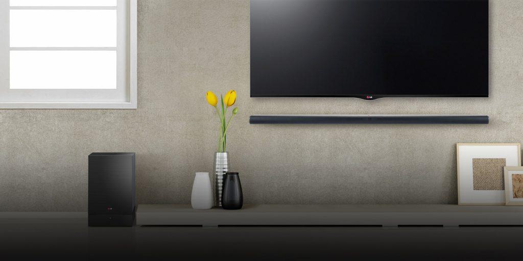 El sistema de sonido inalámbrico ayuda a optimizar el sonido por toda la casa.