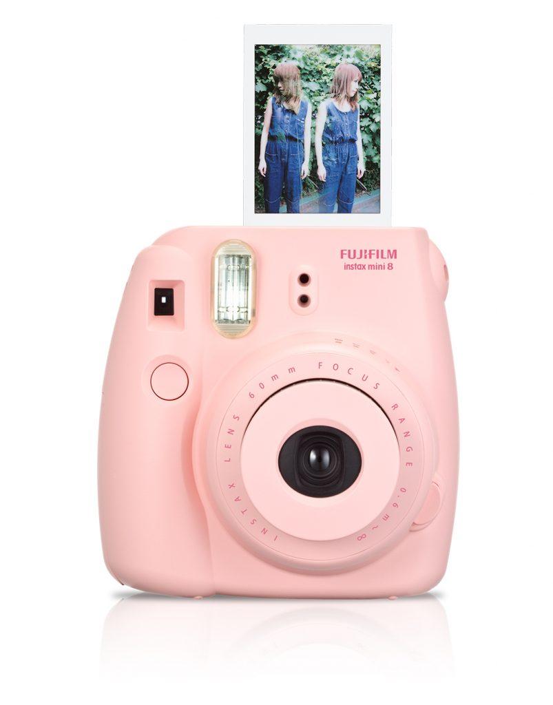 Con esta cámara puedes ver la foto que tomaste al instante.