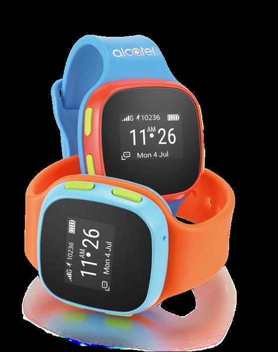 El MoveTime de Alcatel es una muy buena opción de reloj inteligente para niño