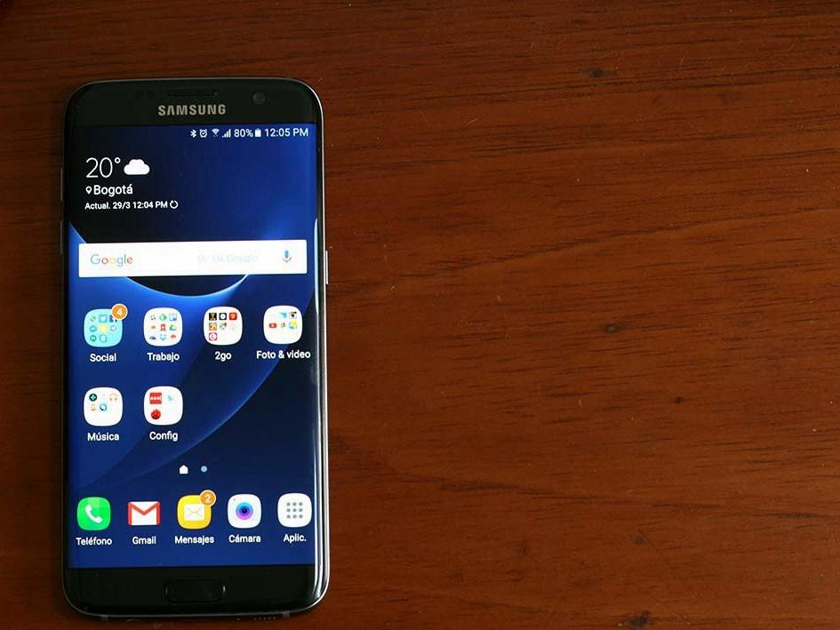 El Samsung Galaxy S7 fue anunciado en febrero de 2016 en Barcelona.
