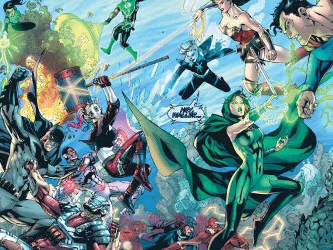 Ambos grupos se enfrentaron en 'Justice League vs Suicide Squad #2'.
