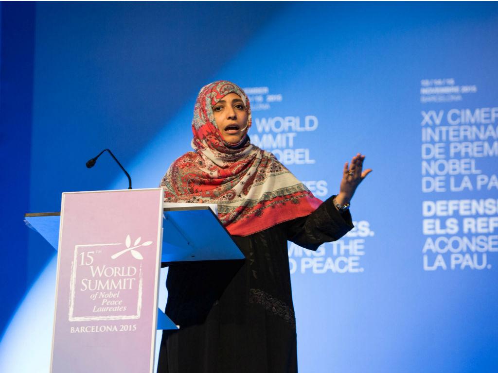 Tawakul Karman, periodista Yemení, hablará sobre el papel de las redes sociales en 'La Primavera Árabe'.