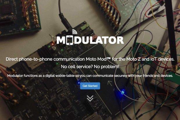 Más Moto Mods de walkie talkie.