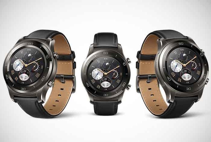 Esta es una de las tres ediciones del Watch 2 presentada por Huawei.