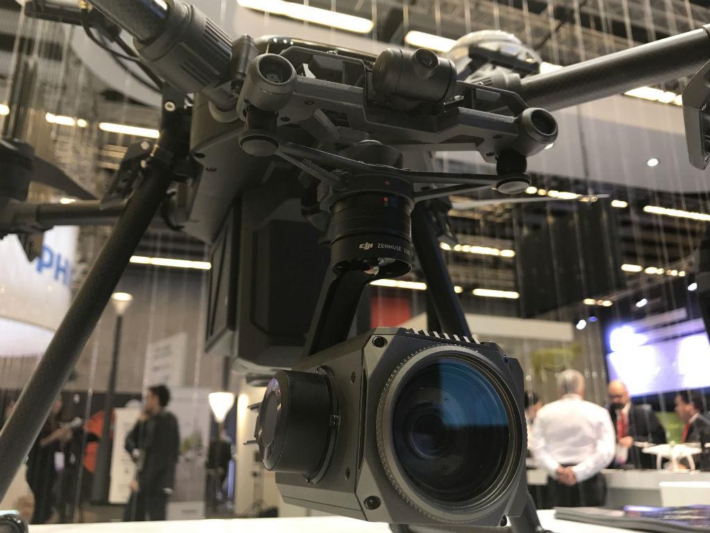 Este drone está diseñado para labores industriales con inspecciones.