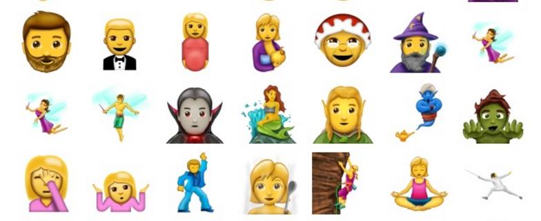 Los fans de la tierra media tendrán un elfo en los emojis.