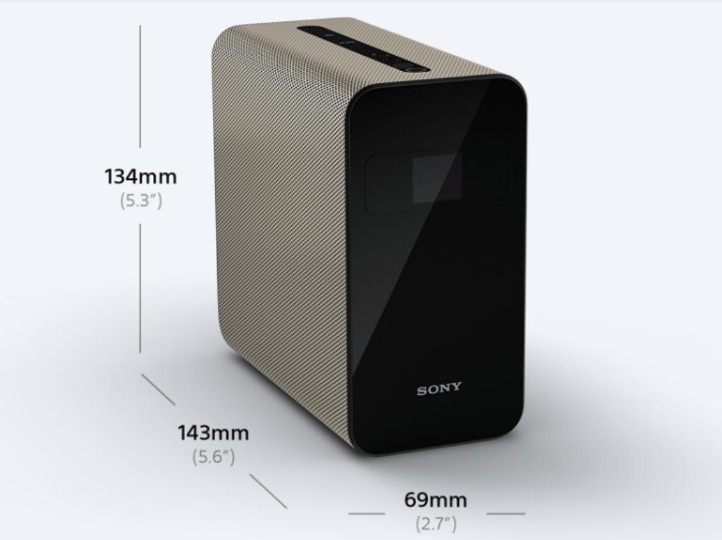 La cámara de este proyector detecta los movimientos.