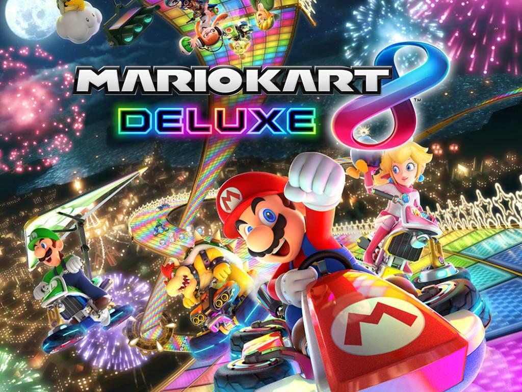 'Mario Kart 8 Deluxe' llega al mercado el 28 de abril.