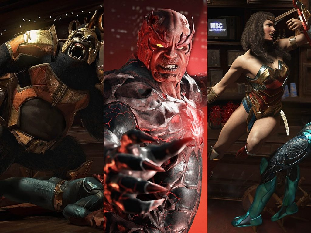 Collage Injustice 2