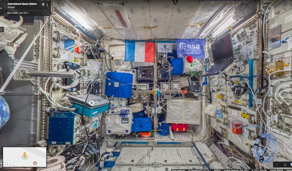 Google Street View estación espacial internacional