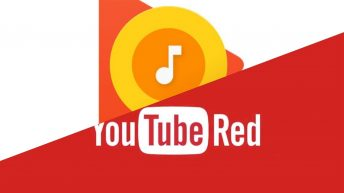 YouTube Red Google Play Music