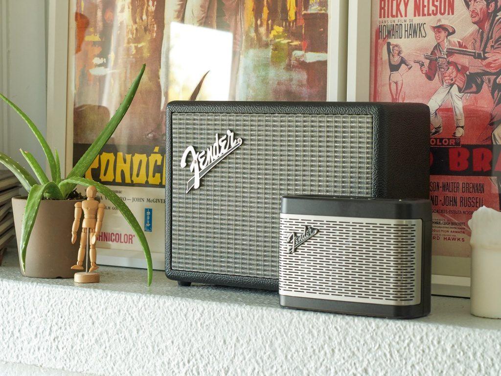 Fender parlantes inalámbricos.
