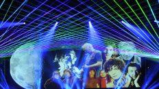 imagen luces laser