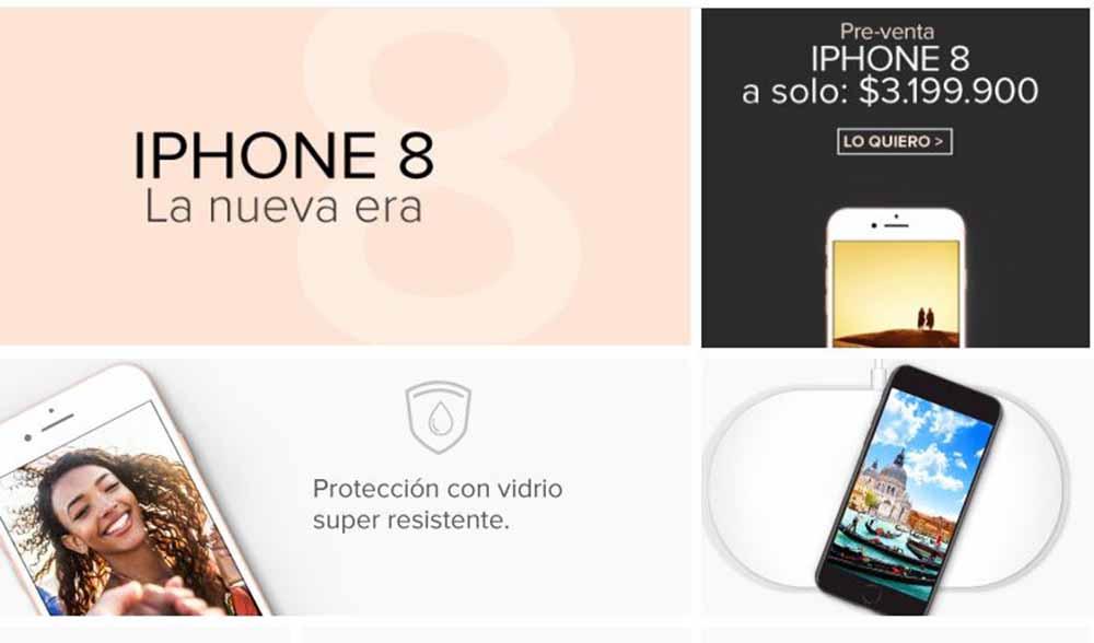 Imagen iPhone 8