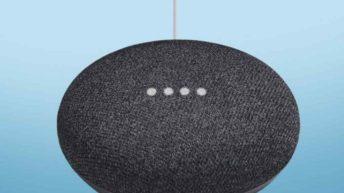 Google Home Mini Pixelbook