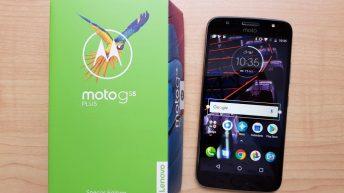 Moto G5S Plus unboxing