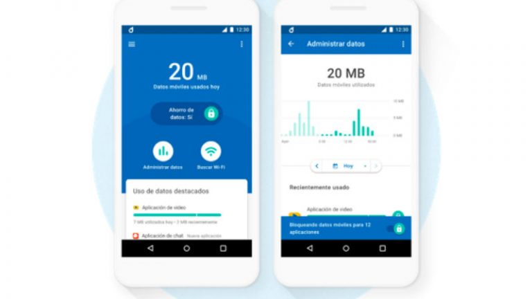 Android Datally ahorrar datos
