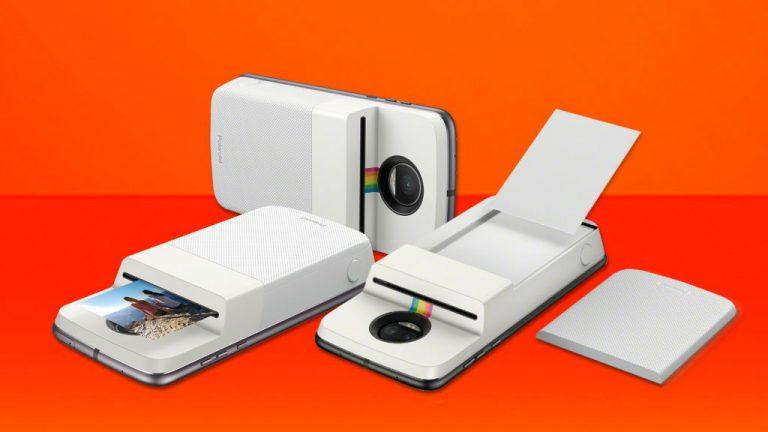 Moto Mod de polaroid