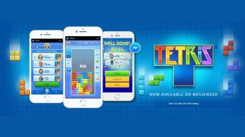 Tetris Instant Games messenger