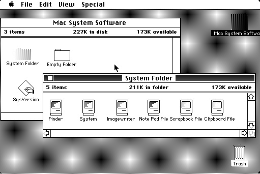 Interfaz del Mac