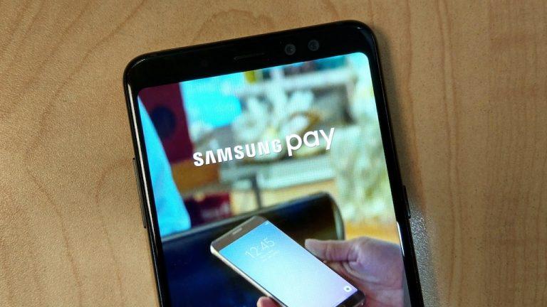 Galaxy A8 Samsung Pay