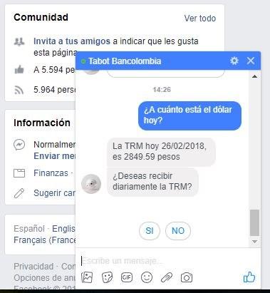 Asistente Virtual De Bancolombia