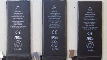 bateria del iphone