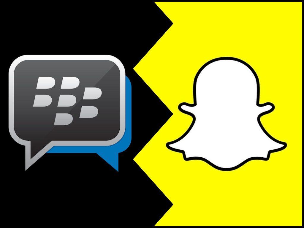 BlackBerry Snapchat