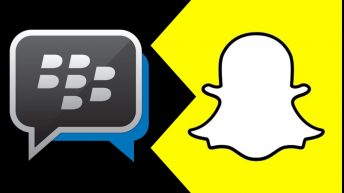 BlackBerry Snapchat