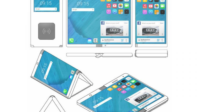 smartphone que dobla Motorola