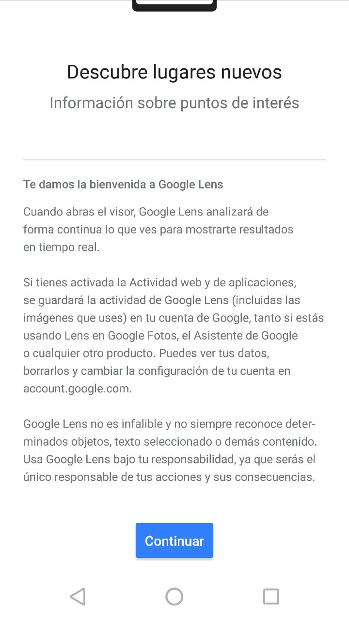 Google Lens en Motorola