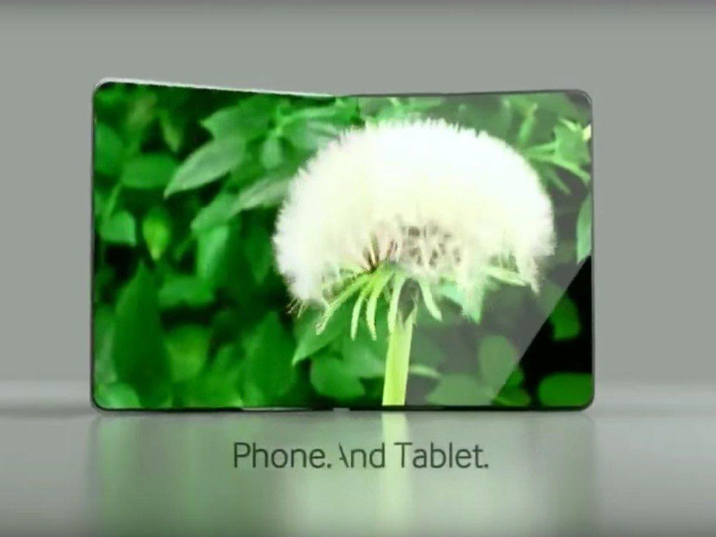 teléfono flexible